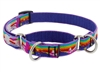 "Lupine 3/4"" Magic Unicorn 10-14"" Martingale Training Collar MicroBatch"