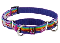 "Lupine 3/4"" Magic Unicorn 10-14"" Martingale Training Collar"