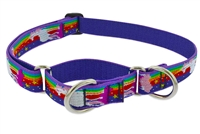 "Lupine Magic Unicorn 15-22"" Combo/Martingale Training Collar - Large Dog LIMITED EDITION"
