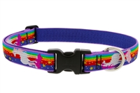 "Lupine Magic Unicorn 16-28"" Adjustable Collar - Large Dog LIMITED EDITION"