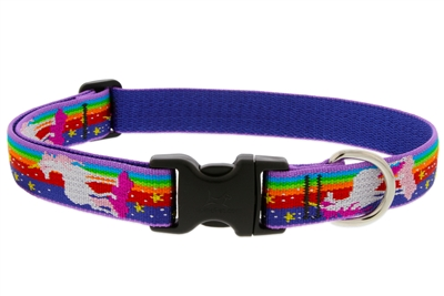 "Lupine 1"" Magic Unicorn 16-28"" Adjustable Collar - Large Dog LIMITED EDITION"