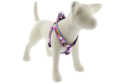 "Lupine Magic Unicorn 24-38"" Step-in Harness - Large Dog LIMITED EDITION"