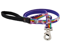 "Lupine 3/4"" Magic Unicorn 6' Padded Handle Leash"