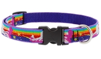 "Lupine 3/4"" Magic Unicorn 9-14"" Adjustable Collar"