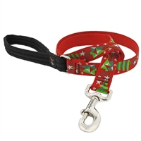 "Retired Lupine 1"" Noel 4' Long Padded Handle Leash"
