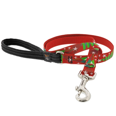 "Lupine 3/4"" Noel 4' Padded Handle Leash"