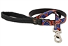 "Retired Lupine 3/4"" Northwest 4' Padded Handle Leash"