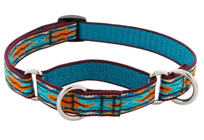 "Retired LupinePet 3/4"" Outback 10-14"" Martingale Training Collar - Medium Dog"