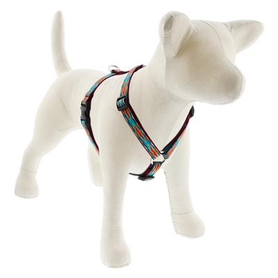 "Lupine 3/4"" Outback 20-32"" Roman Harness - Medium Dog"