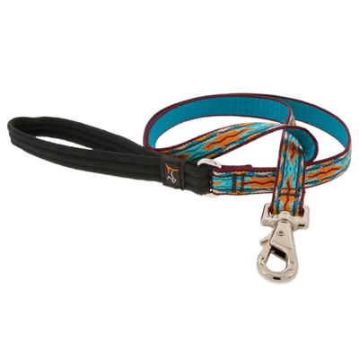 "Lupine 3/4"" Outback 4' Padded Handle Leash - Medium Dog LIMITED EDITION"