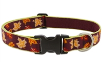 "Lupine 1"" Oak & Maple 12-20"" Adjustable Collar - Large Limited Edition"