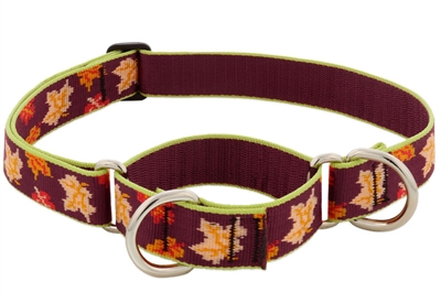 "Retired Lupine 1"" Oak & Maple 12-20"" Adjustable Collar - Large MicroBatch"