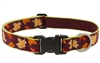 "Lupine 1"" Oak & Maple 16-28"" Adjustable Collar - Large Dog LIMITED EDITION"