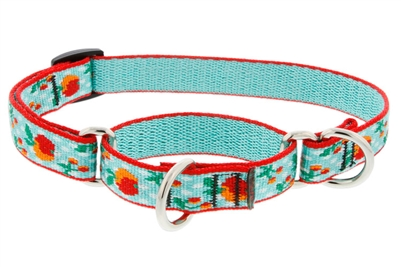 "Lupine Orchard 10-14"" Combo/Martingale Training Collar - Medium Dog LIMITED EDITION"