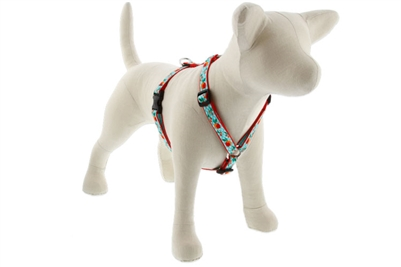 "Lupine Orchard 12-20"" Roman Harness - Medium Dog LIMITED EDITION"