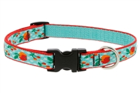 "Lupine Orchard 13-22"" Adjustable Collar - Medium Dog LIMITED EDITION"