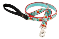"Retired Lupine 3/4"" Orchard 4' Padded Handle Leash"
