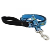 "Lupine 1"" On the Rocks 6' Long Padded Handle Leash"