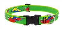 "Lupine 1"" Parrots 16-28"" Adjustable Collar Ships in February 2021"