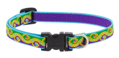 "Lupine 1/2"" Party Time 10-16"" Adjustable Collar"
