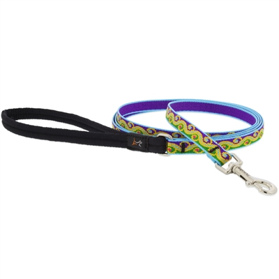 "Lupine 1/2"" Party Time 6' Padded Handle Leash"