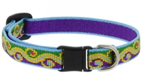 "Retired Lupine 1/2"" Party Time Cat Safety Collar"
