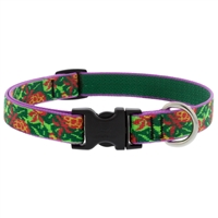 "Retired Lupine 3/4"" Pina Colada 9-14"" Adjustable Collar MicroBatch"