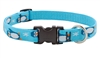 "LupinePet 3/4"" Penguin Party 9-14"" Adjustable Collar - Medium Dog MicroBatch"