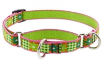 "Lupine 3/4"" Picnic Basket 10-14"" Martingale Training Collar"