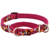 "Retired Lupine 3/4"" Plum Pretty 10-14"" Combo/Martingale Training Collar - Medium Dog"