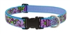 "Lupine 1"" Purple Pansies 12-20"" Adjustable Collar - Large Limited Edition"