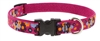 "Retired LupinePet 3/4"" Plum Pretty 15-25"" Adjustable Collar - Medium Dog"