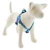 "Lupine 1"" Purple Pansies 24-38"" Step-in Harness - Large Dog LIMITED EDITION"