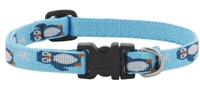 "Lupine 1/2"" Penguin Party 8-12"" Adjustable Collar"