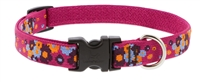 "Retired Lupine 3/4"" Plum Pretty 9-14"" Adjustable Collar"