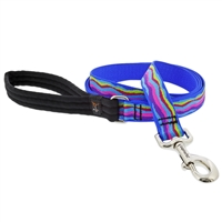 "Lupine 1"" Ripple Creek 6' Long Padded Handle Leash"