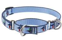 "Lupine 3/4"" Sail Away 14-20"" Martingale Training Collar"
