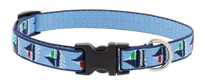 "Lupine 3/4"" Sail Away 9-14"" Adjustable Collar"
