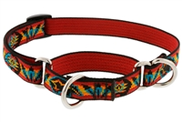 "Retired Lupine 3/4"" Spirit Bear 10-14"" Combo/Martingale Training Collar - Medium Dog"