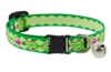"Lupine 1/2"" Scottish Thistle Cat Safety Collar with Bell"