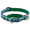 "Retired Lupine 3/4"" Sitting Duck 10-14"" Combo/Martingale Training Collar - Medium Dog"