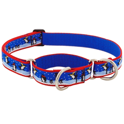 "Retired Lupine 1"" Snow Dance 19-27"" Martingale Training Collar - MicroBatch"
