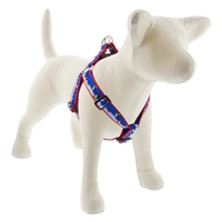 "LupinePet 1"" Snow Dance 19-28"" Step-in Harness - Large Dog MicroBatch"