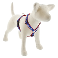 "Retired Lupine 1"" Snow Dance 20-32"" Roman Harness - MicroBatch"