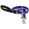 "Lupine 1"" Snow Dance 6' Long Padded Handle Leash - Large Dog LIMITED EDITION"