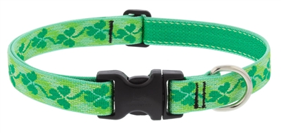 "Lupine 1"" Shamrocks 16-28"" Adjustable Collar Ships in February 2021"