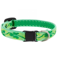 "Lupine 1/2"" Shamrocks Cat Safety Collar Ships in February 2021"