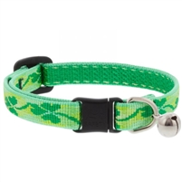 "Lupine 1/2"" Shamrocks Cat Safety Collar with Bell Ships in February 2021"