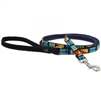 "Lupine 1/2"" Signal Flags 4' Padded Handle Leash"