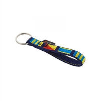 "Lupine 1/2"" Signal Flags Keychain"